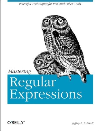 Image of Mastering Regular Expressions