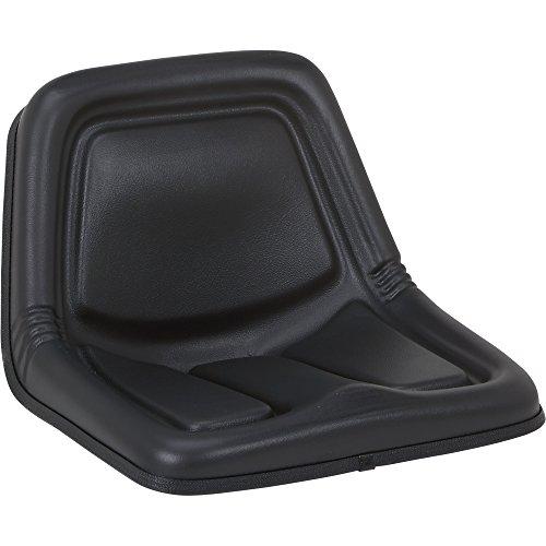 K & M Cub Cadet Tractor Seat - Black, Model# 7519
