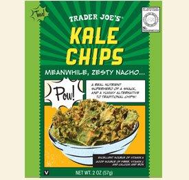 Trader Joe's Kale Chips 2 Oz. Resealable Bag