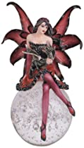 Fairy Collection Pixie With Baby Dragon On Crystal Ball Collectible