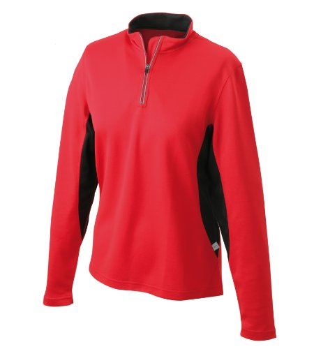 James & Nicholson Women's Running Shirt - XL, Red