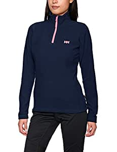 Helly Hansen Women's Day Breaker 1/2 Zip Fleece - Evening Blue, 2X-Large