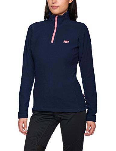 helly-hansen-womens-day-breaker-1-2-zip-fleece-jacket-evening-blue-medium