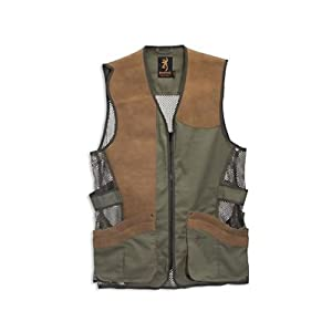 Buy Browning Santa Fe Pro Vest, Sage Oak, Large-Tall by Browning