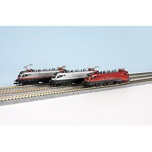 Spur N – Hobbytrain Set E-Lok Taurus Railjet ÖBB