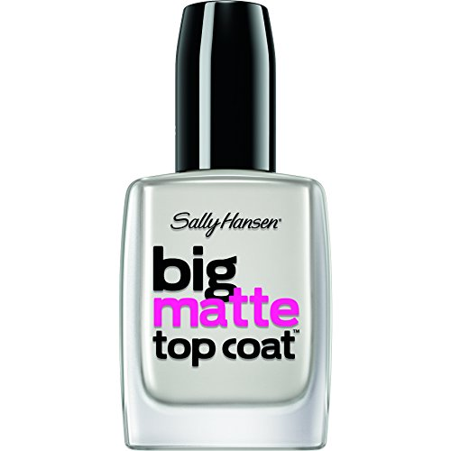 Sally Hansen Treatment Big Matte Top Coat, 41055, 0.4 Fluid Ounce (Matte Polish compare prices)