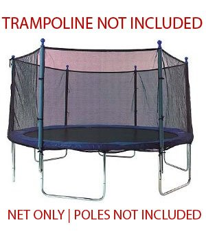 13-Trampoline-Net-attaches-with-Sleeves-for-6-Straight-Pole-Enclosures-Fits-Bravo-Airzone-Variflex-Net-Only