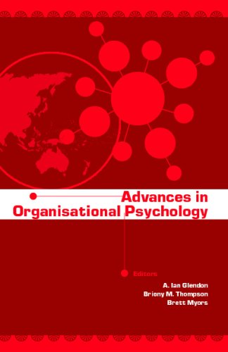 Advances in Organisational Psychology