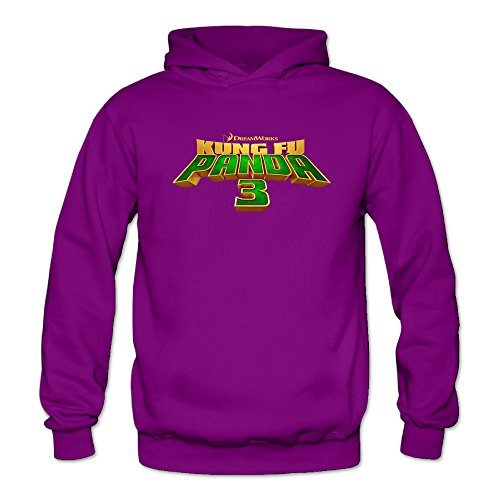 Kung Fu Panda 3 Logo Women's Long Sleeve Hoody Purple US Size XL (Dremel 202 compare prices)