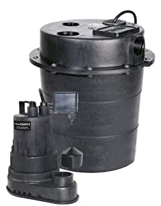Little Giant SPBS Emergency Back-up System with 1600 GPH Sump Pump and Battery Charger with Alarm at Sears.com