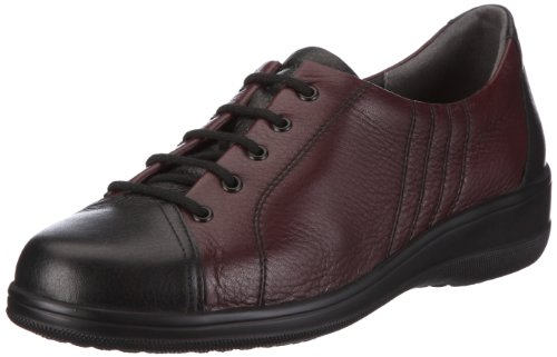 Meisi Gianna Trainers Women Red Rot/schwarz-bordo Size: 36.5