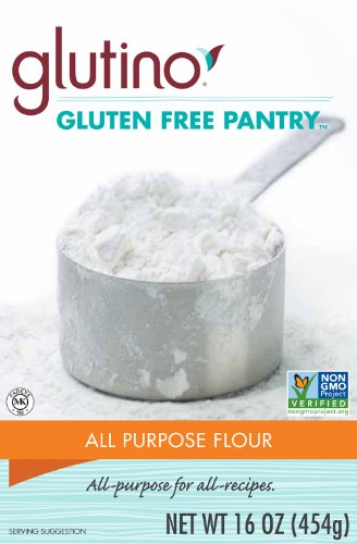 Glutino Gluten Free Pantry All-Purpose Flour, 16-Ounce Boxes (Pack of 6)
