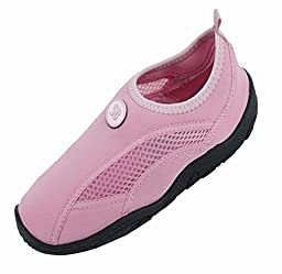 Brand New Toddlers Slip-On Athletic Pink Water Shoes / Aqua Socks Size 10