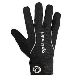 Optimum Men's Cycling Winter Gloves - Black, Small