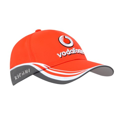 Vodafone McLaren Mercedes 2013 Jenson Drivers Team Cap Motorsport F1 Fan