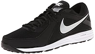 Nike Men's Lunar MVP Pregame Black/White/Black Training Shoe 8 Men US
