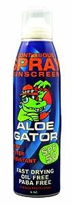Aloe Gator Sun Care Adult Continuous Spray by Aloe Gator Sun Care
