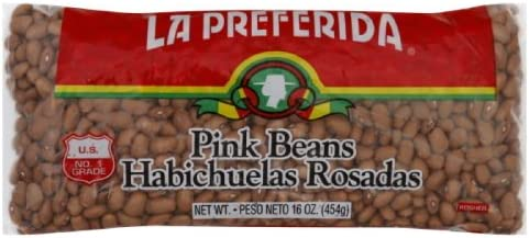 La Preferida Pink Beans 16-Ounce Pack of 24