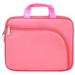 Filemate Imagine 10-Inch Netbook/Tablet Carrying Case - Pink (3FMNG210PK10-R)