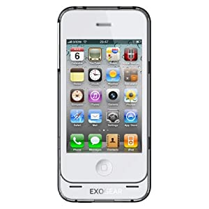 EXOGEAR exolife iPhone 4 Battery Case (White)