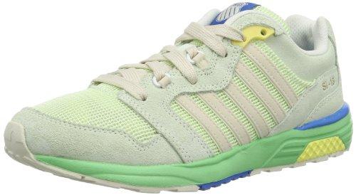 K-Swiss SI-18 RANNELL 2 93178-375-M, Sneaker Donna, Verde (Grün (Ambrosia/Absinthe Green/Whitecap Gray 375), 35,5