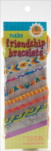 Make Friendship Bracelets Kit-Makes 6- - 1