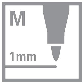 Strichstärke 1 mm Tintenroller Mine 50er Pack