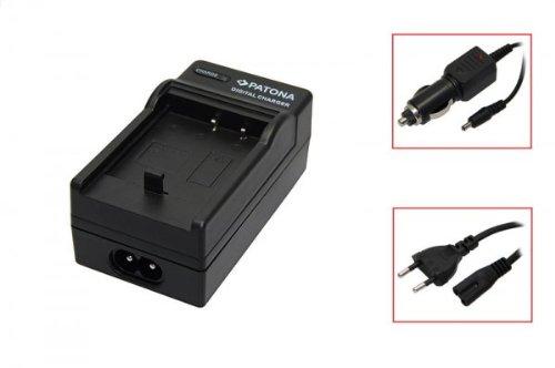 Akku-Ladegerät passend für Sony NP-BG1 black, Cybershot DSC-H3 / DSC-H7 / DSC-H9 / DSC-H10 / DSC-H20 / DSC-H50 / DSC-HX5V, DSC-N1 / DSC-N2, DSC-T20 / DSC-T100, DSC-W30 / DSC-W35 / DSC-W50 / DSC-W55 / DSC-W70 / DSC-W80 / DSC-W80HDPR/ DSC-W90 / DSC-W100 / DSC-W110 / DSC-W120 / DSC-W130 / DSC-W150 / DSC-W170 / DSC-W200 / DSC-W210 / DSC-W215 / DSC-W220 / DSC-W230 / DSC-W270 / DSC-W275 / DSC-W290 / DSC-W300, DSC-WX1