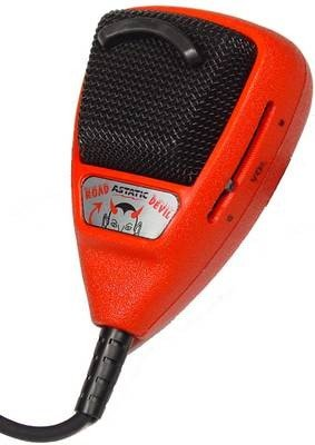Astatic (302-10036) Rd104E Road Devil Amplified 4-Pin Cb Microphone
