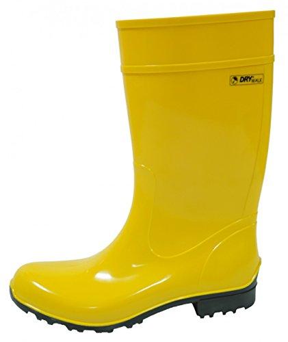 Bockstiegel Stivali di gomma da donna Tessa, Couleur:jaune;Taille:39
