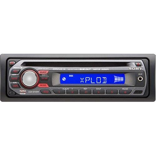 Amazon.com : Sony Xplod CDX-GT22W 208 Watts AM/FM Car CD Receiver with