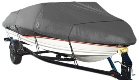 Wake Monsoon Series Model F Boat Cover (Grey,