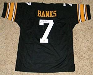 Brad Banks Signed Jersey - #7 Black Coa - Autographed College Jerseys by Sports+Memorabilia