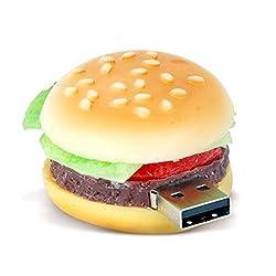 32 GB Burger Shaped Fancy USB Pen Drive