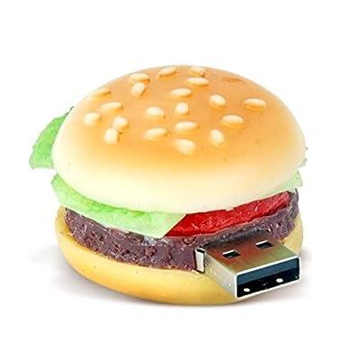 Quace 8GB Burger Shaped Fancy USB Pen Drive