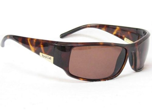 Bolle Sunglasses King Dark Tortoise Frame with Polarized A-14 Lenses