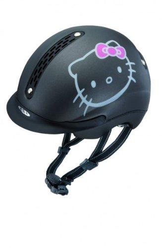 KED Reithelm Raluca Hello Kitty Schwarz Matt