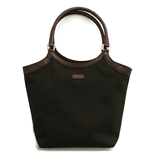 Gucci Browns Canvas Tote Shoulder Bag Guccissima Trim Handbag 279153