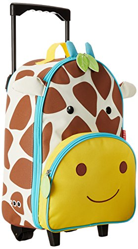 Why Choose Skip Hop Zoo Kids Rolling Luggage, Giraffe
