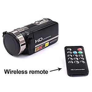 1080p Full HD Remote Control IR Night Vision / 30FPS Wifi Digital Video Camcorder with 3.0 Inch Touchscreen - 4 Modes Ghost Hunting Camera