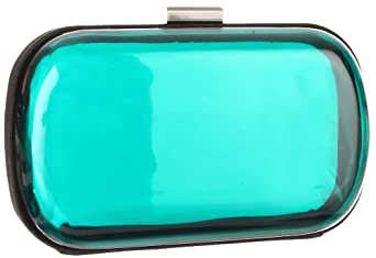 BCBGeneration Morgan YCP315GN Clutch,Teal,One Size