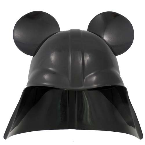 Disney Parks Star Wars Darth Vader Mickey Ears Helmet