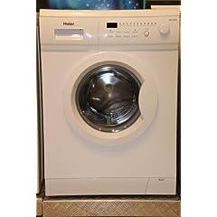 haier hns1000a waschmaschine frontlader abc kwh 1000 upm 5 kg 49 liter led. Black Bedroom Furniture Sets. Home Design Ideas