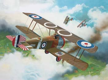 Revell Germany  Sopwith F-1 Camel Model Kit