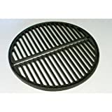 Cast Iron Grate, preseasoned, fits Smokey Joe Grills, Bodum Fyrkat and small/medium Big Green Eggs