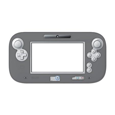 【Wii U】任天堂公式ライセンス商品 シリコンもち肌カバー for Wii U GamePad ブラック