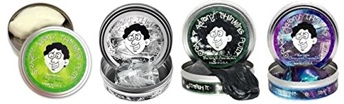 Crazy Aaron's Best Sellers Assortment, Large 4″ tins