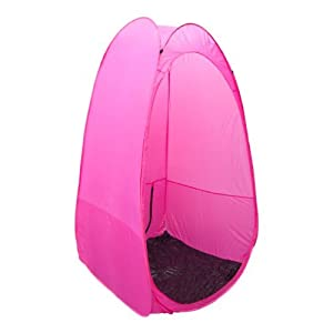 OMG - Tente Dépliante Rose Vif Spray Autobronzant