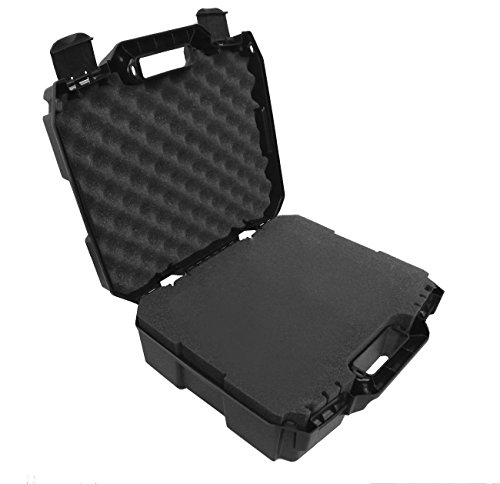 SMOKESAFE Travel Hard Case with Dense Foam fits Hookah Tobacco Herbal Water Pipes - Fits 12