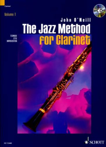 The Jazz Method for Clarinet (Tutor Book & CD)